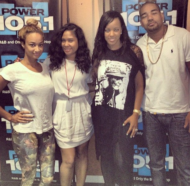 Basketball Wives' Draya Hits The Breakfast Club, Explains Her Unique Friendship to Karrueche Tran + No Longer Being A 'Hoe'