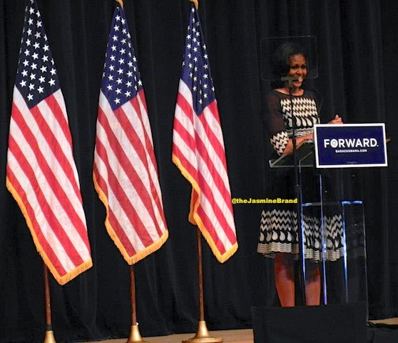 First Lady Michelle Obama Takes Her Talents to Morgan State University