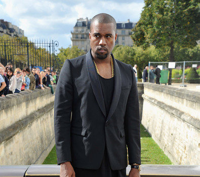 Kanye West Mean Mugs At Dior Show