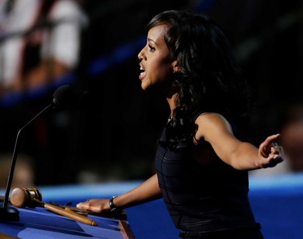 Celebs React to President Obama & Biden's Speech + Peep Who Attended