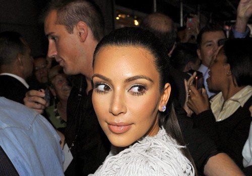 Kim Kardashian & Kanye West Make NYFW Date Night