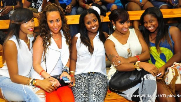 [Photos] Celebs Flock to Ludacris Charity Basketball Game