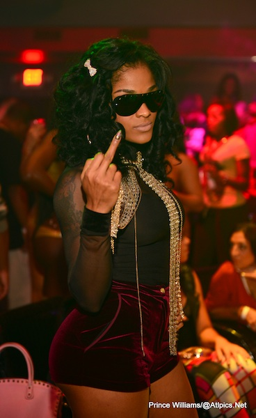 [Photos] LHHA's Stevie J & Joseline Hernandez Have Strip Club Date Night