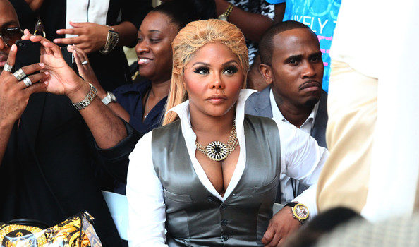 Haute Or Hot A** Mess : Lil Kim Goes Platinum Blonde for Fashion Week