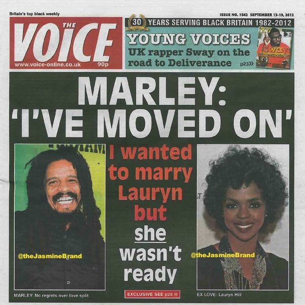 Rohan Marley (Sorta) Explains Why He Ended Relationship With Lauryn Hill