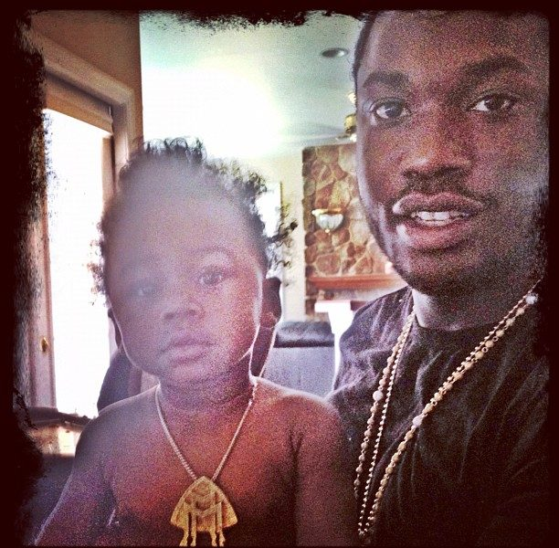 Meek Mill Puts Baby Mama on Blast + Calls Her A Bum for Abusing Child Support