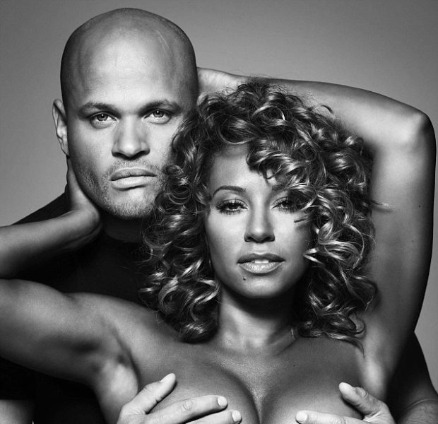Mel B Lets Husband Grope Her, In the Name of Fighting Breast Cancer