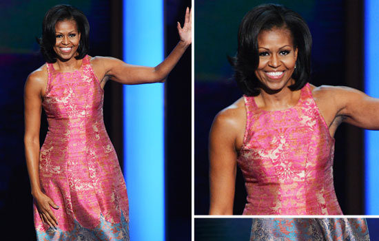 Stylish or Inappropriate : First Lady Michelle Obama's DNC Look