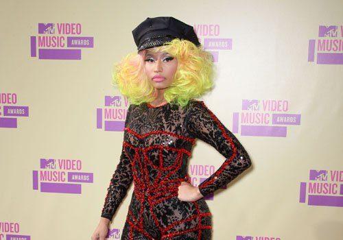 Stop & Stare Nicki Minaj's Skin Tight MTV VMA Cat Suit