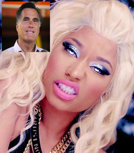 New Music Nicki Minaj Says Shes A Republican Voting For Mitt