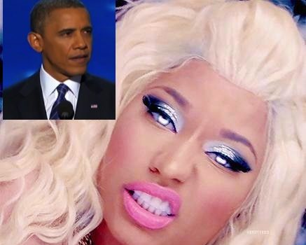 President Obama Responds To Nicki Minaj's Romney Endorsement + Nicki Denies Being A Republican