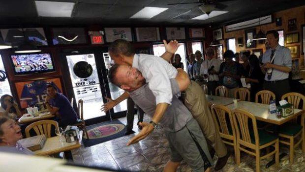 President Obama Gets Bear Hug, Joseline Hernandez Hits VMAs + Kandi Opens New Boutique
