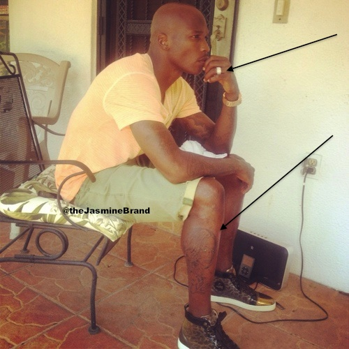 Ochocinco Gets Evelyn Lozada's Face Tattooed On Him