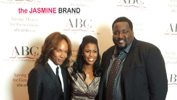 Omarosa Visits DC, Honored By the Association of Black Cardiologists