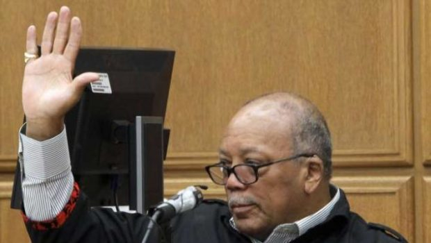 Quincy Jones Attends Court, Gives Testimony to Settle Beef Between Rich Friends