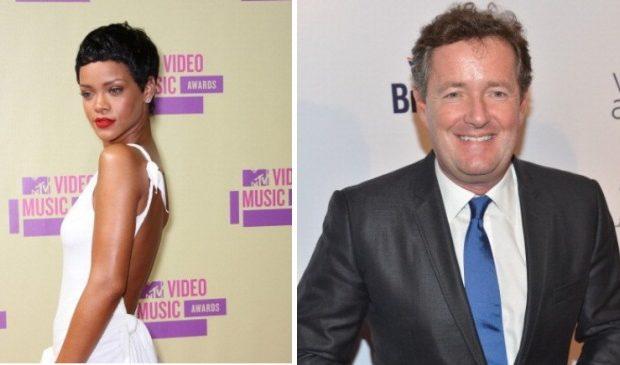 Twitter Beef : Rihanna Tells Piers Morgan To Grow A P*nis