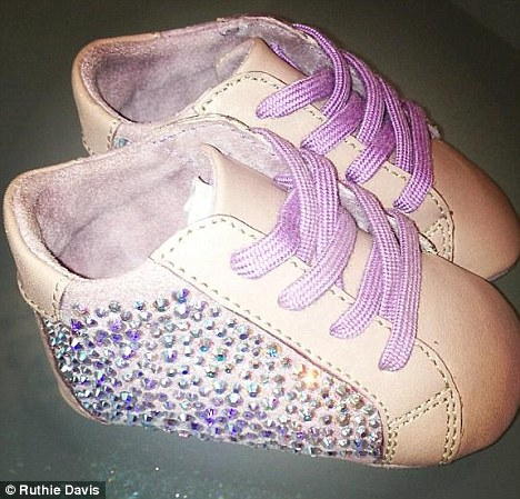 Stylin' On You Baby Hoes: Blue Ivy Gets $1800 Swarovski Shoes Made For Her
