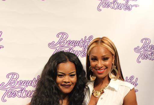 [Photos] Teyana Taylor, Olivia Attend 'Beautiful Textures' Party