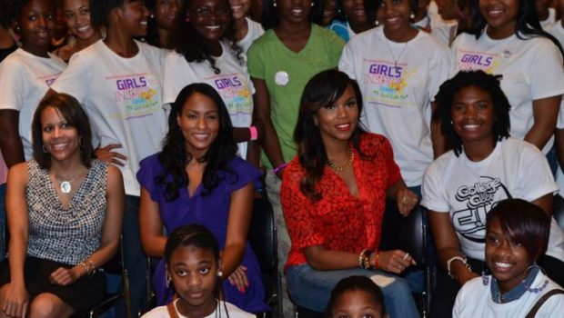 [Photos] LeToya Luckett Hits DC for 'Girls Inspire Summit'
