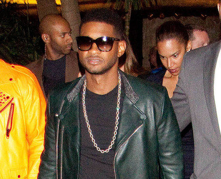 Spotted. Stalked. Scene. Usher in Sin City for iHeartRadio Festival