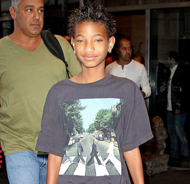 Willow Smith Spikes Her New Black, Conservative Hair