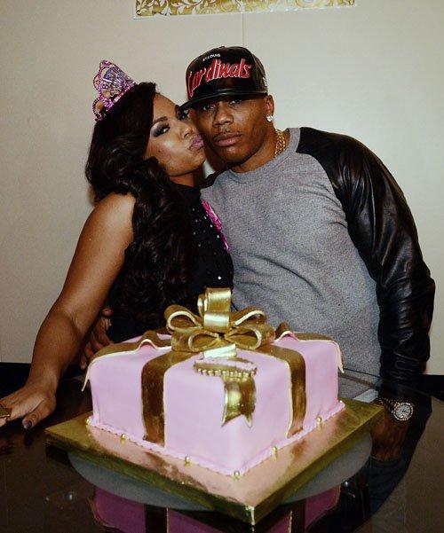 Photos] Nelly Throws Girlfriend Ashanti Surprise Birthday Bash at STK ...