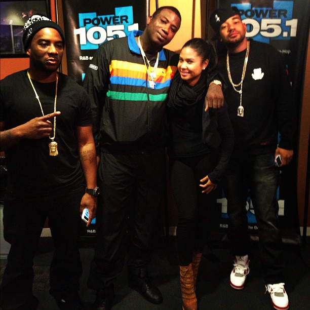 ae4224736964 Gucci Mane Visits The Breakfast Club Disses Young Jeezy