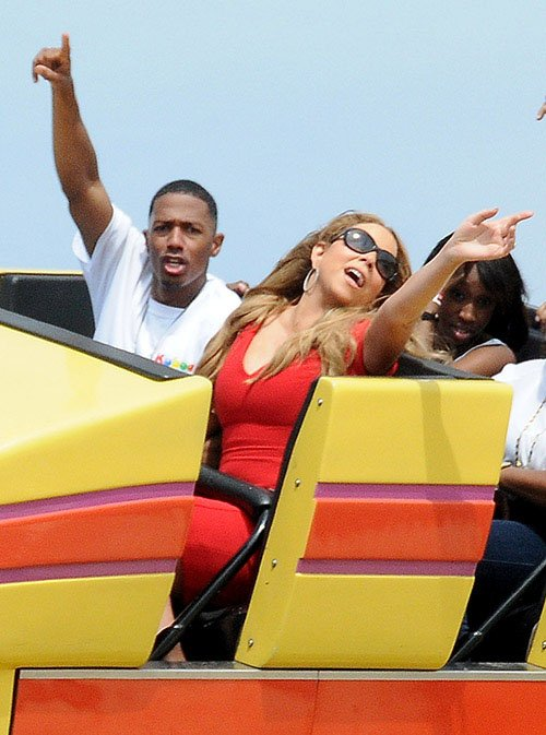 mariah carey-nick cannon-family amusement park-d-the jasmine brand