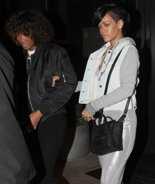 rihanna reprimands best friend melissa for attacking. Cars Review. Best American Auto & Cars Review