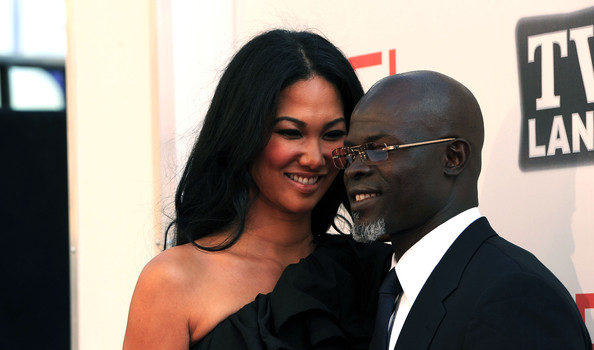 Djimon Hounsou's Camp Says He & Kimora Lee Simmons Were NEVER Married