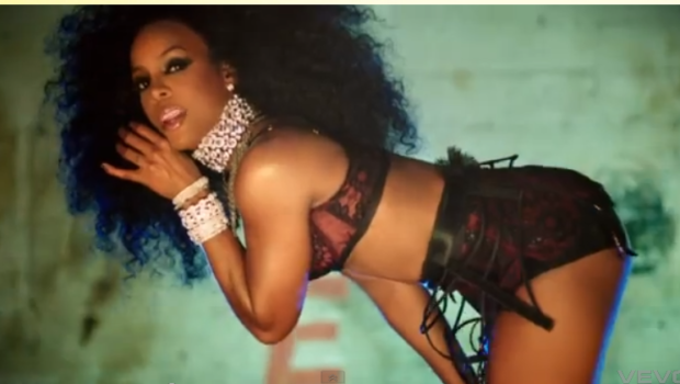 [Video] Slippery When Wet, Kelly Rowland Releases Sexually Charged 'Ice' Video
