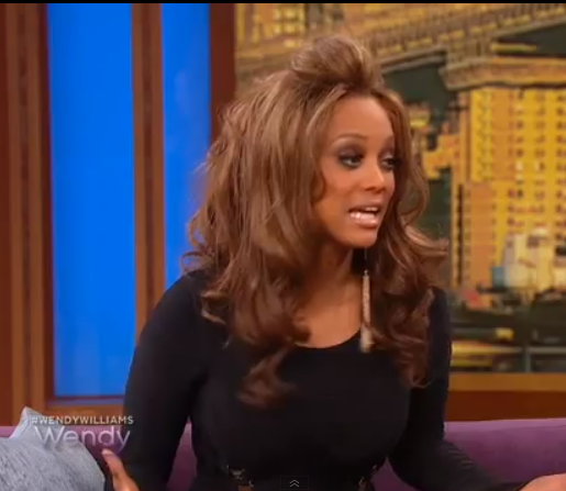[Video] Tyra Banks Denies Dating Rob Evans, Says He's LIke A little Brother