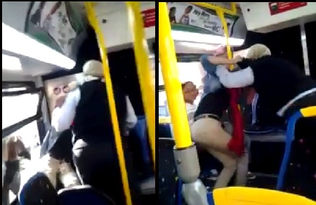 [WATCH] Baltimore Bus Driver & Student Fight On Bus + Who Is At Fault?
