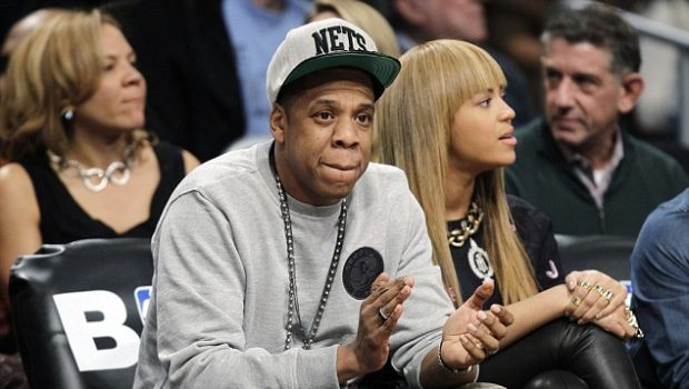 Spotted. Stalked. Scene. Beyonce's Bangs, Spiked Out @ Brooklyn Nets Game