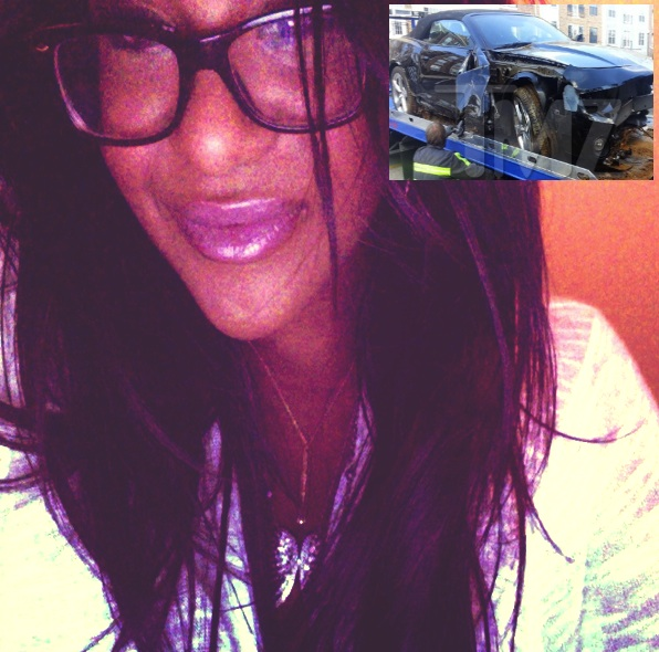 Bobbi Kristina Responds to Car Accident, Says People Are Crucifying Her Like Jesus