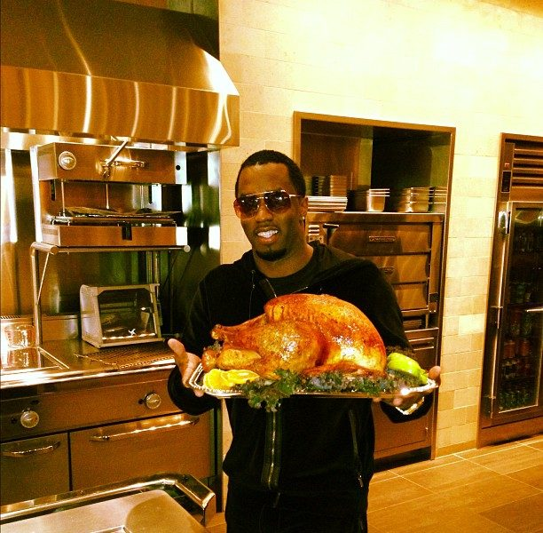 Celebs Feed the Homeless + Show Thanksgiving Food Porn feat. Diddy, Karrueche & Bow Wow