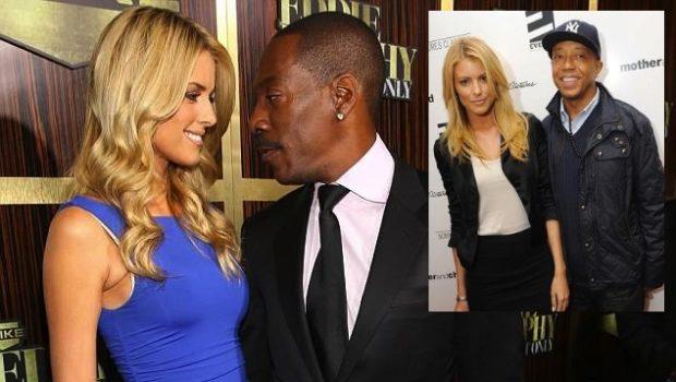 Ear Hustlin': Eddie Murphy's New Girlfriend Use to Date Russell Simmons & Tyson Beckford