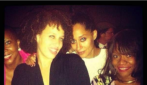 Cake, Friends & A Cute Dress: Tracee Ellis Ross's Candid B-Day!