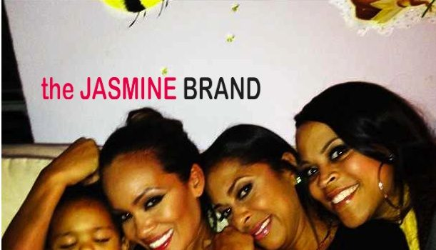 Evelyn Lozada, Shaunie O'Neal Attend Tiffney Cambridge's Reality TV Premiere House Party
