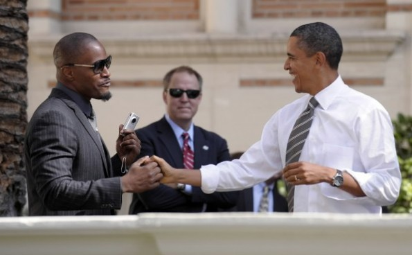 jamie foxx-calls obama-lord and savior-the jasmine brand
