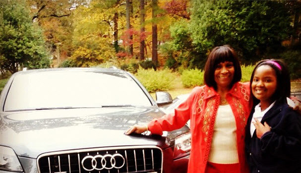 RHOA's Kandi Burruss Laces Mother With $47k Tricked-Out Birthday Car