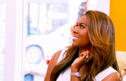 Atlanta Housewives' Kenya Moore Says Cynthia Bailey Is Too Old to Model