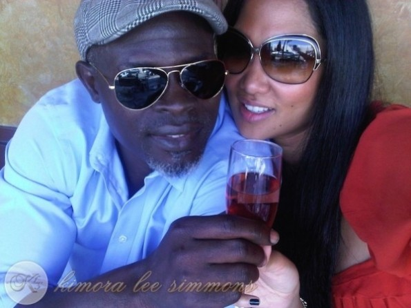 kimora lee simmons-djimon hounsou-separated-split-the jasmine brand