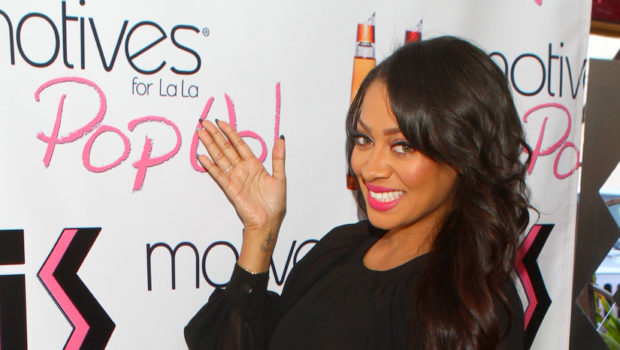 (Photos) Lala Anthony Pops Up With Motives Cosmetic Line in Atlanta