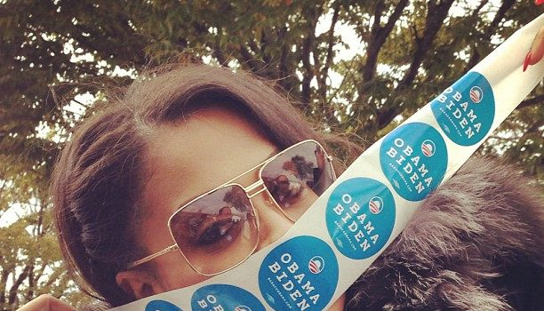 Proud Celebrity Voters Feat. Kimora Lee Simmons, June Ambrose, Lala Anthony & Other Famous Folk