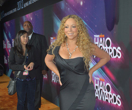 [Photos] Mariah Carey, Swizz Beatz, NeYo Attend Nick Cannon's 'HALO Awards'