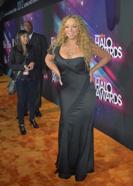 [Photos] Mariah Carey, Swizz Beatz, NeYo Attend Nick Cannon's 'HALO Awards'