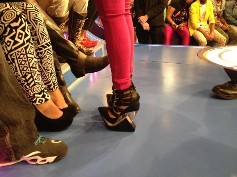 Nicki Minaj Shoes Always pushing the style