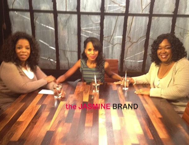 Oprah Brings #GladiatorsInSuits to Next Chapter: Featuring 'Scandal's' Shonda Rhimes & Kerry Washington