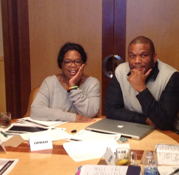 (UPDATE) Gayle King Shuts Down Rumors Tyler Perry & Oprah Are Feuding
